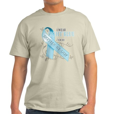 I Wear Light Blue for my Father-In-Law Light T-Shi