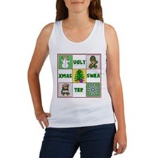 Ugly Christmas Sweater Women's Tank Top