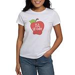 1st Grade Apple Women's T-Shirt