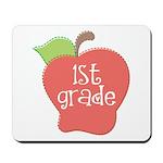 1st Grade Apple Mousepad