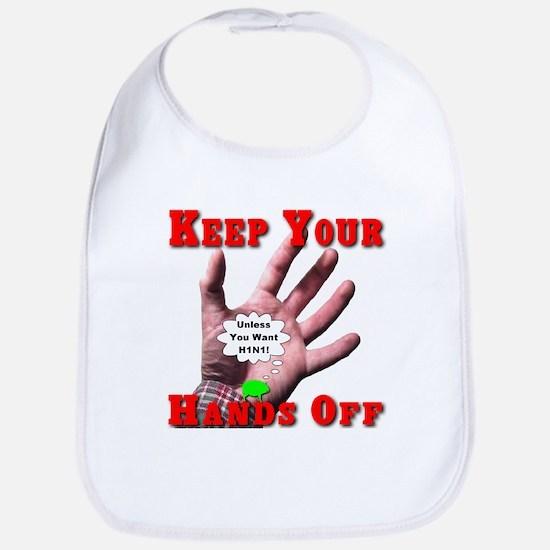 Keep Your Hands Off Bib