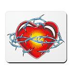 My Captured Heart Mousepad