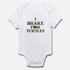 I Brake for Turtles Infant Bodysuit
