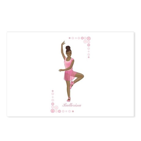 African American Ballerina Postcards (Package of 8