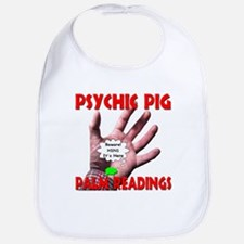 Psychic Pig Palm Readings Bib