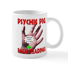 Psychic Pig Palm Readings Mug