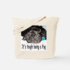 Unique Black pugs Tote Bag