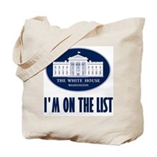 I'm on the List Tote Bag