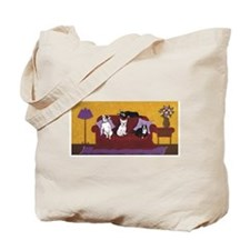 Hart Dogs on Couch Original Tote Bag