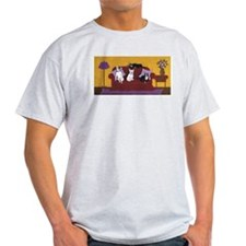 Hart Dogs on Couch Original T-Shirt
