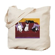 Hart Dogs Close Up Tote Bag