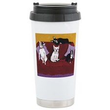 Hart Dogs Close Up Travel Mug