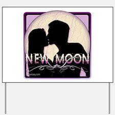 New Moon Midnight Kiss Yard Sign