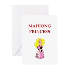 mahjong joke Greeting Card