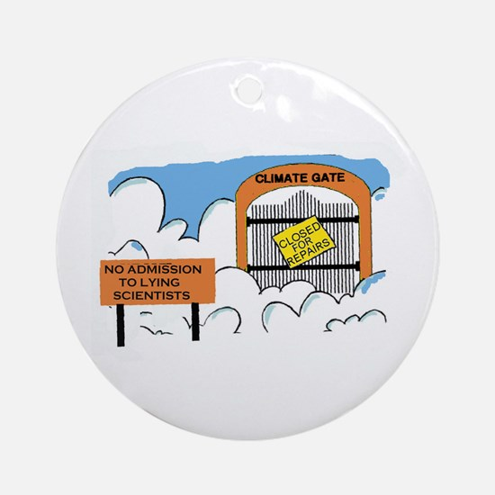 SCIENTISTS CAN'T BE TRUSTED Ornament (Round)