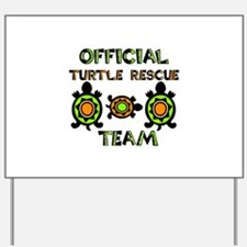 Turtle Rescue Yard Sign