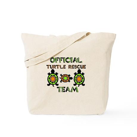 Turtle Rescue Tote Bag