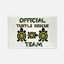Turtle Rescue Rectangle Magnet (10 pack)