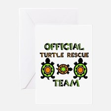 Turtle Rescue Greeting Card