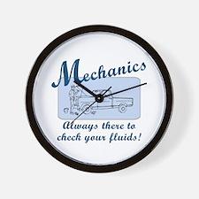 Funny Mechanics Wall Clock