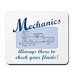 Funny Mechanics Mousepad