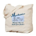Funny Mechanics Tote Bag