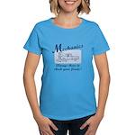 Funny Mechanics Women's Dark T-Shirt