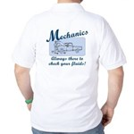 Funny Mechanics Golf Shirt