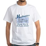 Funny Mechanics White T-Shirt