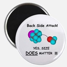 "Back Side Attack 2.25"" Magnet (10 pack)"