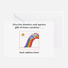 Metaphysical Sunshine Greeting Card