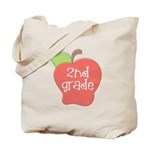 2nd Grade Apple Tote Bag