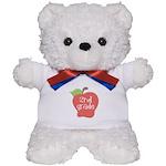 2nd Grade Apple Teddy Bear