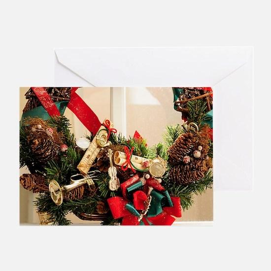 Merry Musical Christmas Greeting Card