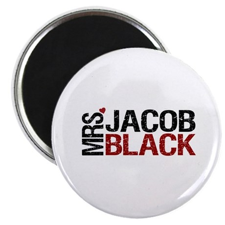 "Mrs. Jacob Black 2.25"" Magnet (100 pack)"