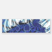 Midnight Flares Fractal Bumper Bumper Bumper Sticker