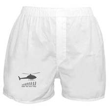 """""""Helicopter Next Step"""" Boxer Shorts"""