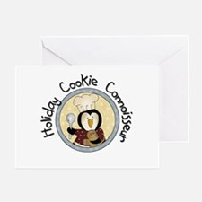 Penguin Cookie Connoisseur Greeting Card