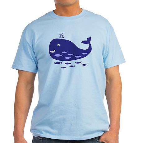 Blue Whale Light T-Shirt