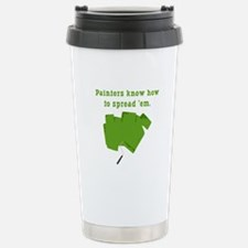 Funny Painters Stainless Steel Travel Mug