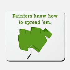 Funny Painters Mousepad