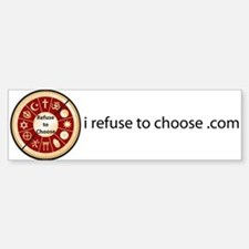 Refuse to Choose a Religion (Bumper Sticker)