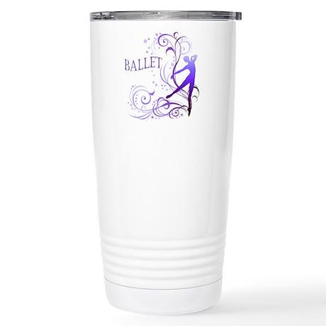 Ballet - scroll Stainless Steel Travel Mug
