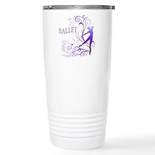 Ballet - scroll Travel Mug