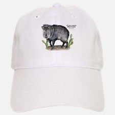 Collared Peccary Baseball Baseball Cap