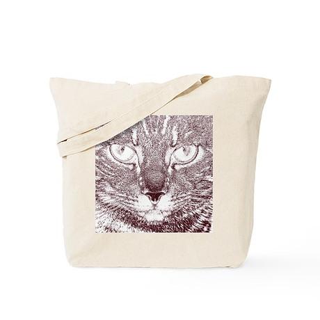 Vigilant Cat Tote Bag