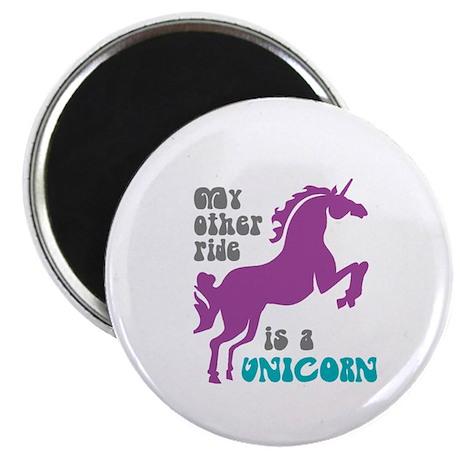 Unicorn Ride Magnet
