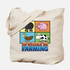 FARMING - Multiple Animals Tote Bag