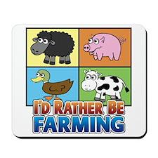 FARMING - Multiple Animals Mousepad