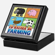 FARMING - Multiple Animals Keepsake Box